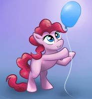 Generic Pinkie Filly Balloon by GSphere
