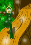 Lily Tree Pose Colored by Anubis2Pabon288