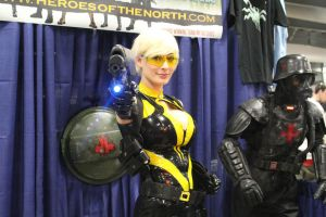Hornet from Heroes of the North by VoiceofSupergirl