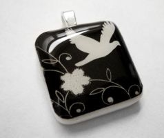 Fly Away Pendant by luminarydreams