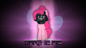 Pinkie Pie Wallpaper (Darth Vader Style :D) by Qutiix