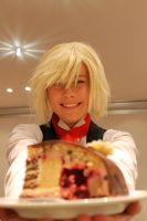 Want some cake? :D by JairaSilberwoelfin