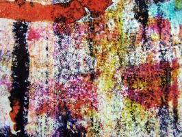 Manipulated Monoprint 4 by pendlestock