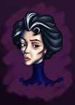 Sceptical Old Lady by Farbaktivist