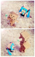 Danbo: And she said by eivven
