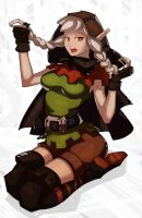 Dragons Crown Elf by SplashBrush