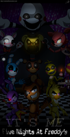 Five Night At Freddy's by N-SteiSha25