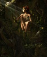 The Dryad Queen by MCKrauss