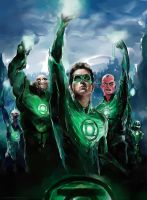 Green Lantern Corps by novicekid