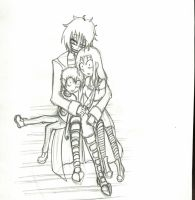 JTHM Sketch 2 - 'I'm Happy.' - Uncolored by gaarapandachan