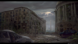 Post apocalyptic Washington D.C. by RobertoGatto