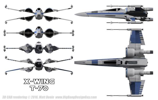 X-Wing Blue by Ravendeviant
