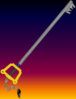 The Real Sephiroth Keyblade by ReyJJJ