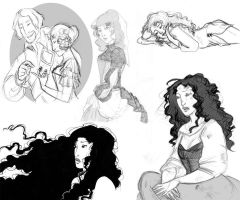 Sketches from Castille II by KiraMizuno