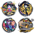 Fakekai Medals by Xzeit