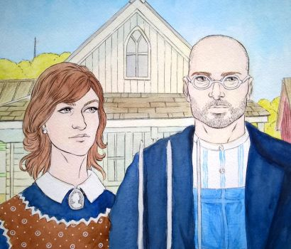 Canadian Gothic by Gilran