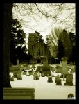 chapel in winter by CiRcUsSpiDeR