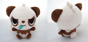 Shiny Pancham Pokedoll by PlanetPlush