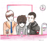 Pink Floyd at the Malt Shop? by electricsorbet