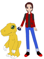 Me and my Agumon by Supremechaos918