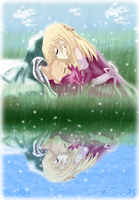 NaLu - Kiss me ( colored  ) by felixne