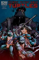 TMNT cover 7 by dan-duncan