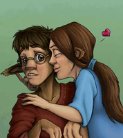 Clingy Picture Of The Day by In-Tays-Head