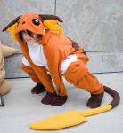 Raichu Pokemon Cosplay by Blashina