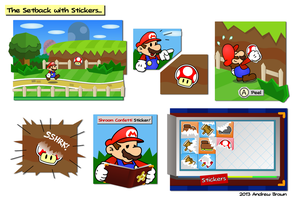 Paper Mario: The Setback with Stickers by King-Bowser-Koopa