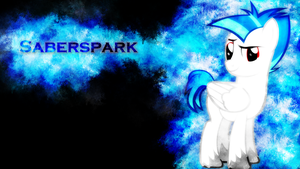 Saberspark Frost Wallpaper by EnemyD