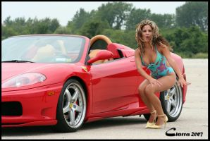 Norma with Ferrari 360 Spyder by Inno68
