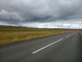 iceland road by Mittelfranke