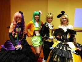 Vocaloid's - Banzai! Production group by TrainerHarmony