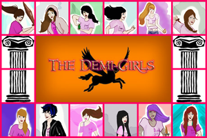Demi-Girls Collage by PJOfan22