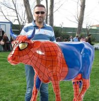 LeoTheMaster with Spider Cow by leothemaster