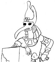 Futurama - A Pharaoh to Remember - High Priest by RobotHellboy1114