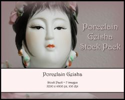 Porcelain Geisha Stock Pack by Toefje-Kunst