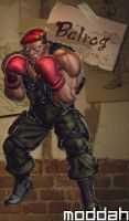 SFTK PC Balrog Alt. Costume backport from xbox360 by moddah