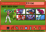 TrainerCard 2.0 The Kalos Gang by DragonGirl787