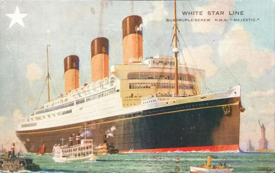 RMS Majestic by Yesterdays-Paper