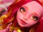 Monster High Repaint (Gooliope Jellington) by AshGUTZ