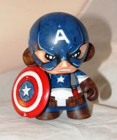 Captain America Munny by RocketboyCustoms