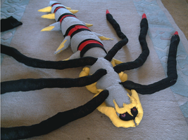 giratina plush toy selfmade by shadowhatesomochao