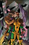 Gambit And Rogue Ba09 Color Battle by DARKANGEL-LEVY
