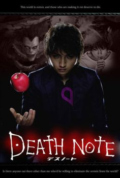 Fan Made Movie Poster - Death Note by bLizZter