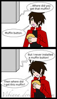 Muffin button. by Vibiana