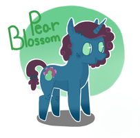 Adoptable: Pear Blossom by JellyBeanBullet