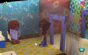 MySims: SHE'S USING MY TOILET NOW?! by Duskus