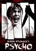 alfred hitchcock Psycho poster 1960 by teotone92