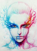 Bipolarity - Print by JoJoesArt